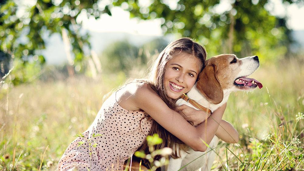 I benefici degli animali sugli adolescenti